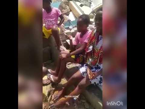 Cela se passe en côte d'Ivoire Cocody Danga en temps de paix.