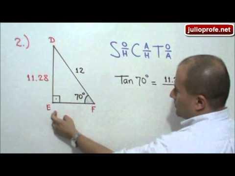 Solución de Triángulos Rectángulos