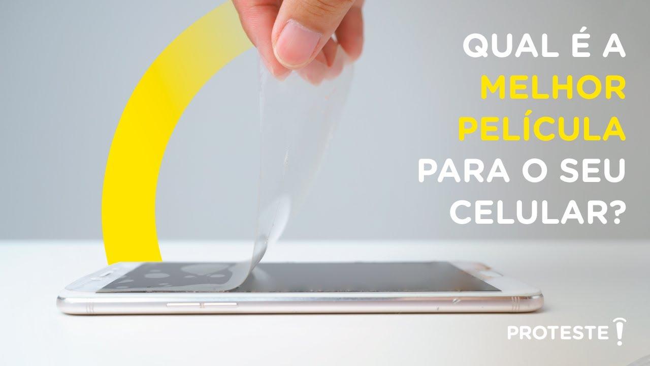Teste da Película de Proteção avalia o MELHOR modelo para o seu celular. Assista agora!
