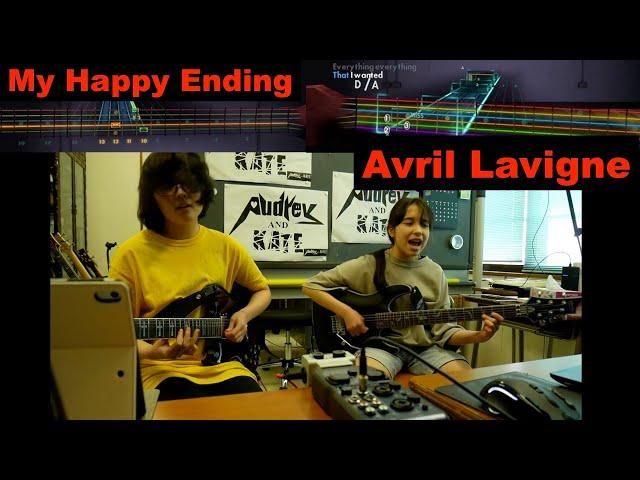 #Rocksmith - #Avril Lavigne - My Happy Ending -  lefty guitar +guitar #アヴィリル