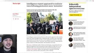 """""""Journalist"""" SHOCKED That Antifa Are Listed As TERRORISTS By Security Agencies"""
