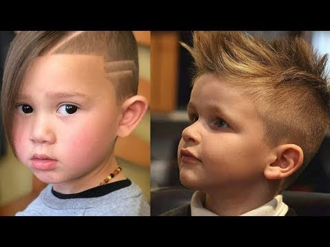 Kids Boys Hairstyles || Kaur Trends