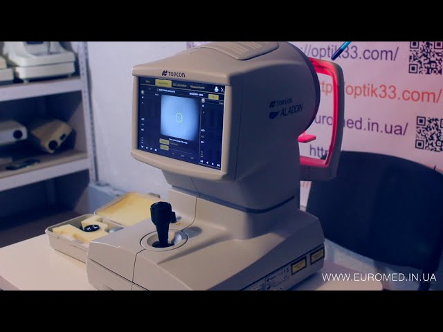 Topcon ALLADIN - обзор биометра, иол мастера кератопографа и пуппилометра