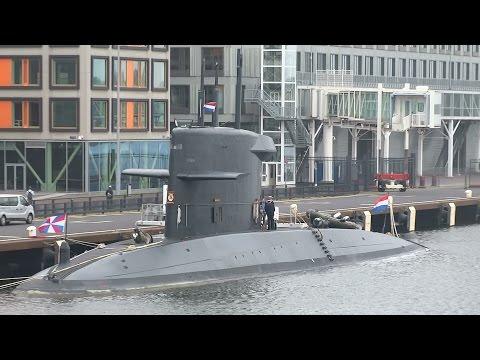 Onderzeeboot Zr  Ms Walrus bij PTA Amsterdam