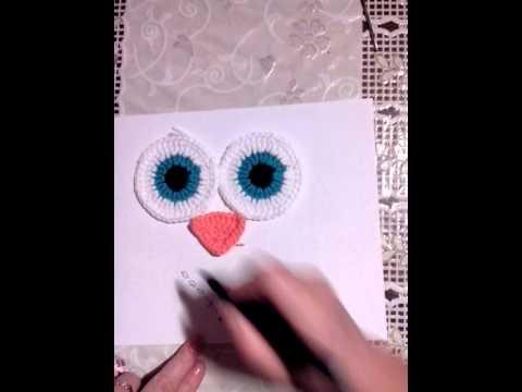 Как сделать нос совы
