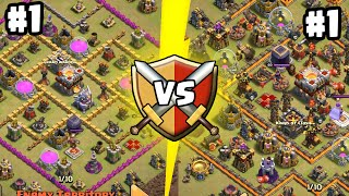 Clash of Clans - SUPERCELL MATCHMAKING AT ITS FINEST! Insane Matchup in Clan Wars!