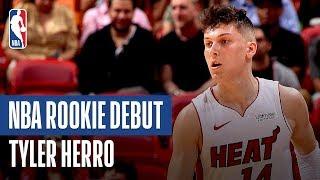 Tyler Herro Shines In Preseason Debut   | 2019 NBA Preseason