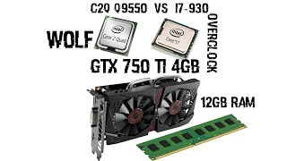 C2Q Q9550[2.8|OC3.2] VS I7-930[2.8|OC3.2|3.6|3.8GHZ]|GTX750TI 4GB|12GB RAM