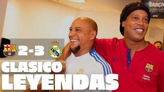 HIGHLIGHTS | Barcelona Legends 2-3 Real Madrid Ley