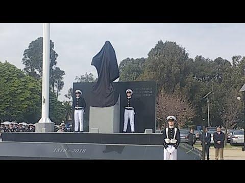 [EN VIVO 4G] Inauguración monumento Arturo Prat en Escuela Naval 4 de Agosto 2018