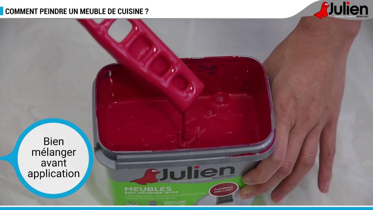 Comment peindre un meuble de cuisine ? - Peintures Julien