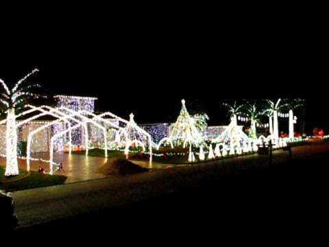 Joe's Dancing Christmas Lights in Plantation, FL - YouTube