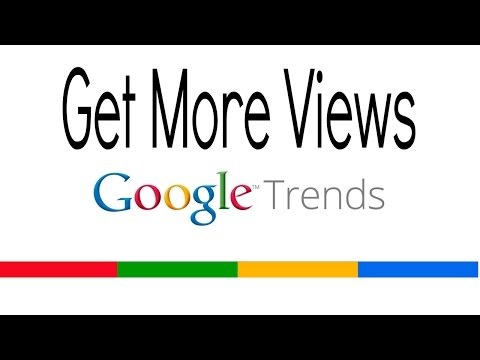 How To Get More Youtube Views With Google Trends Keywords ► Tutorial (Youtube SEO)