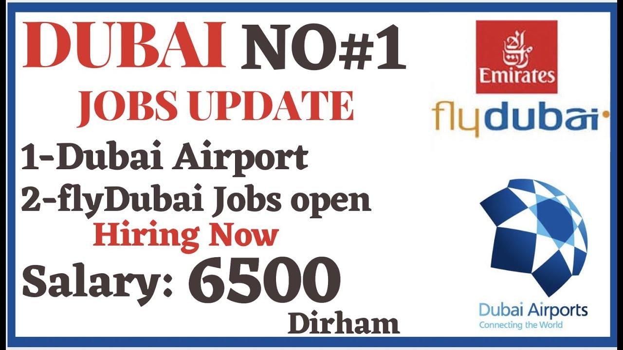DUBAI AIRPORT JOBS 2021 | FLYDUBAI AIRLINE JOB VACANCIES || APPLY FROM HOME IT'S URGENT