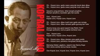 Kopral Jono - Ismail Marzuki