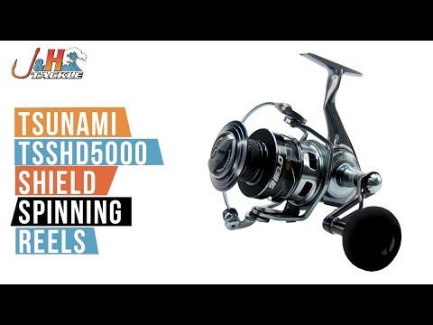 Tsunami Shield TSSHD5000 Spinning Reel | J&H Tackle