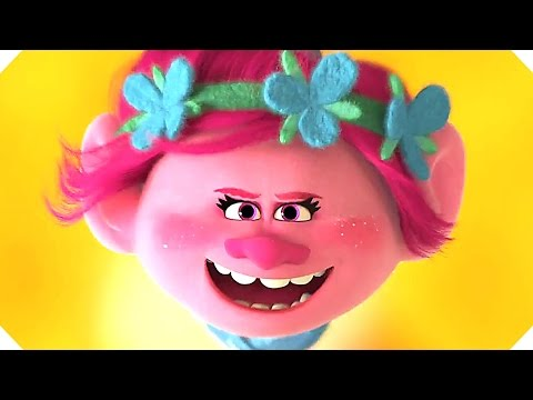 TROLLS Movie TRAILER # 2 (Animation - 2016)