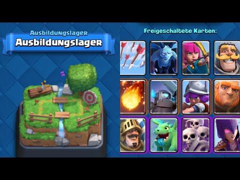 Nur TRAININGSLAGER Karten OP? | 12 Siege möglich! | Clash Royale deutsch