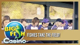 JACKPOT - Big Fish Casino FREE Slots - Fishies Take the Field - Everybody's Playing! -