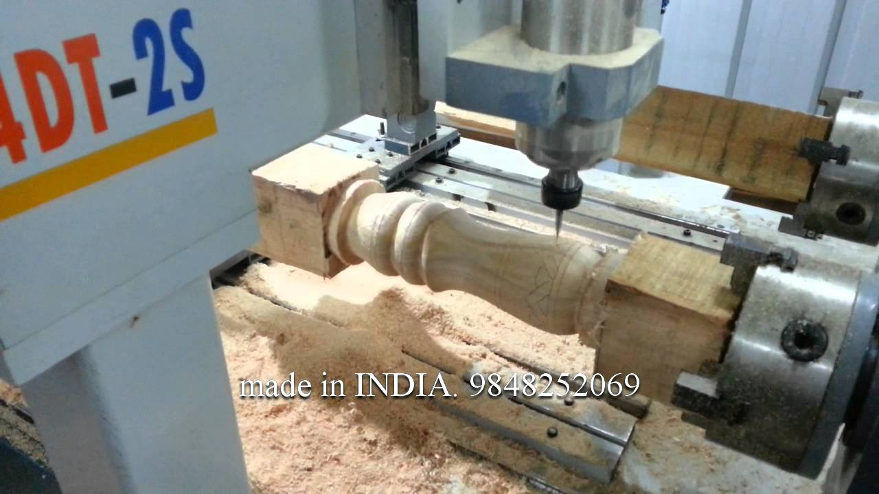 Indian Made Cnc Router For Turning And 3d Carving Youtube