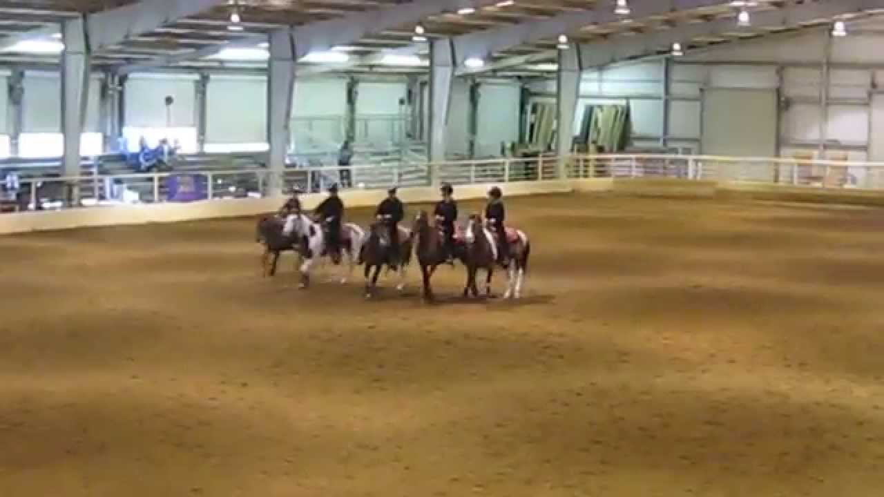 The Stephens County Indians Equestrian Drill Team