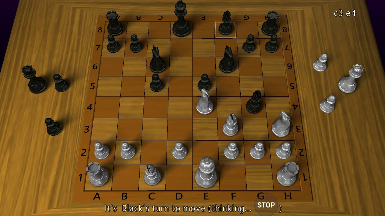 3D Chess Game: Chơi cờ vua trên Windows 10