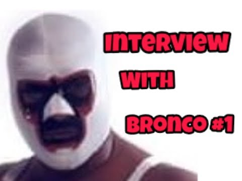 Interview with Caribbean Wrestling Legend, El Bronco #1