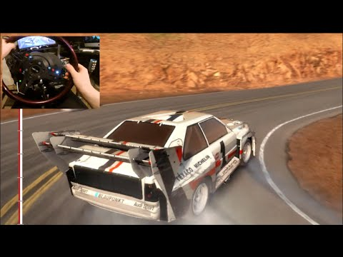 dirt rally xbox one gopro pikes peak run first. Black Bedroom Furniture Sets. Home Design Ideas