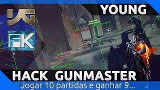 BF4 - jogando Gunmaster de hack.