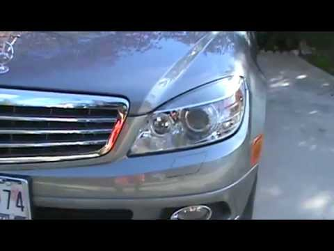 Enable Daytime Running Lights on your Mercedes - YouTube