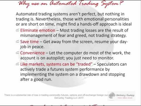 Trade Automatic Futures Trading Systems with a Mouse Click