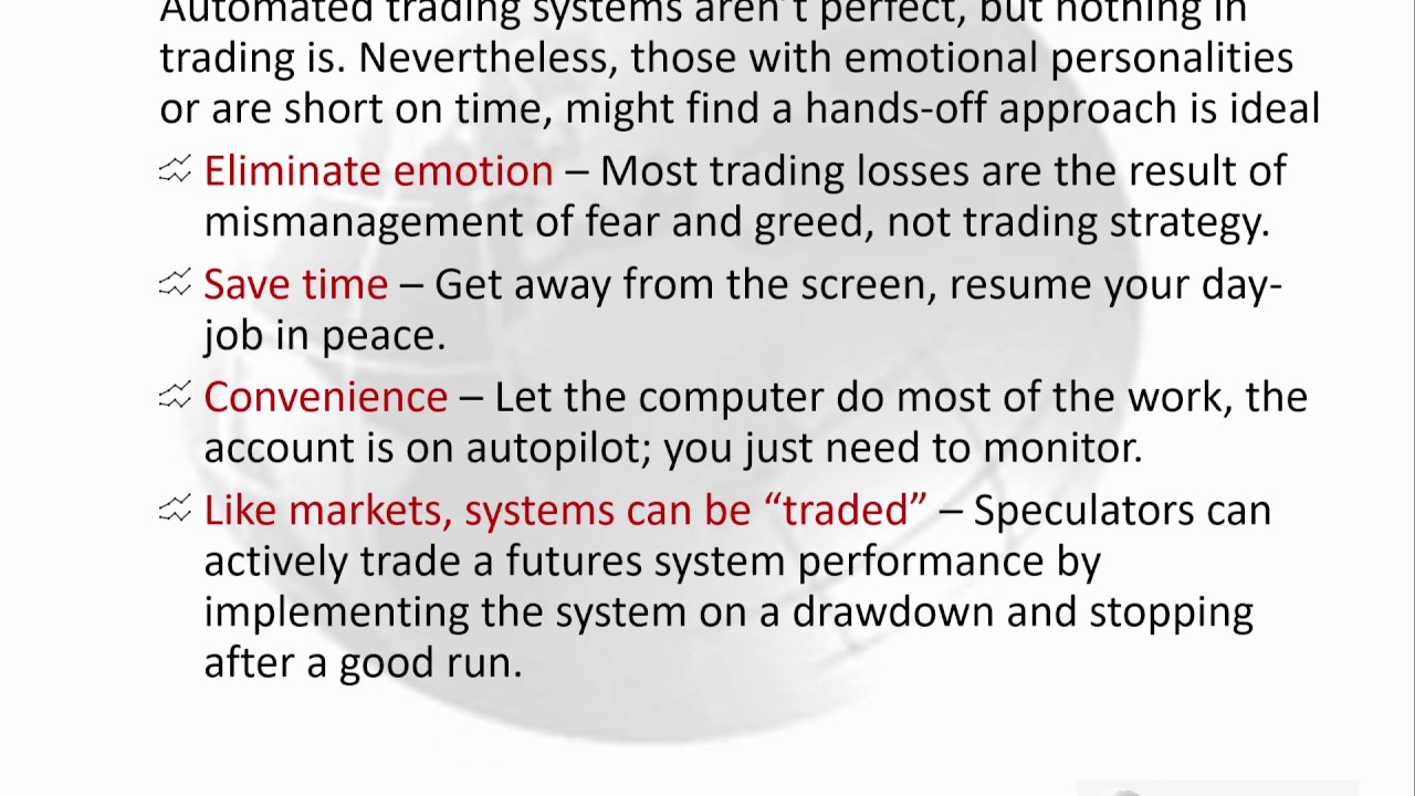 Automated futures trading systems