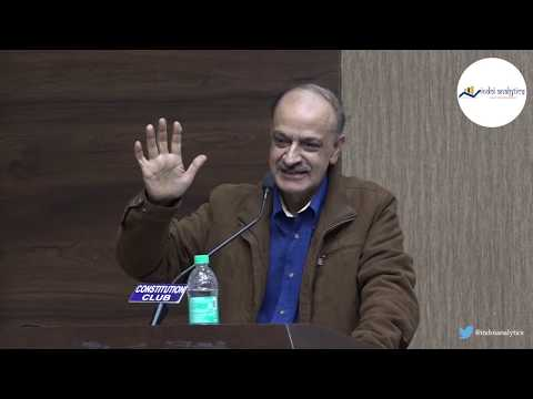 Sh Javed Iqbal Shah (Must watch) speaking at IndoiAnalytics conclave on Article35A