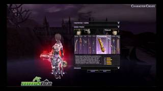 Atlantica Online Character Creation HD