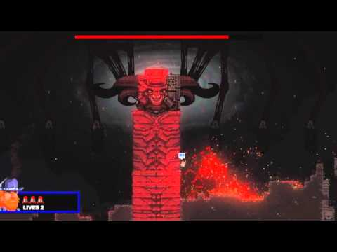 Broforce - How to Defeat Satan's True Form Guide - YouTube