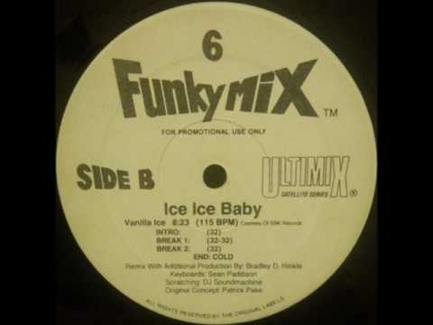 Vanilla Ice  Ice Ice Ba Funkymix