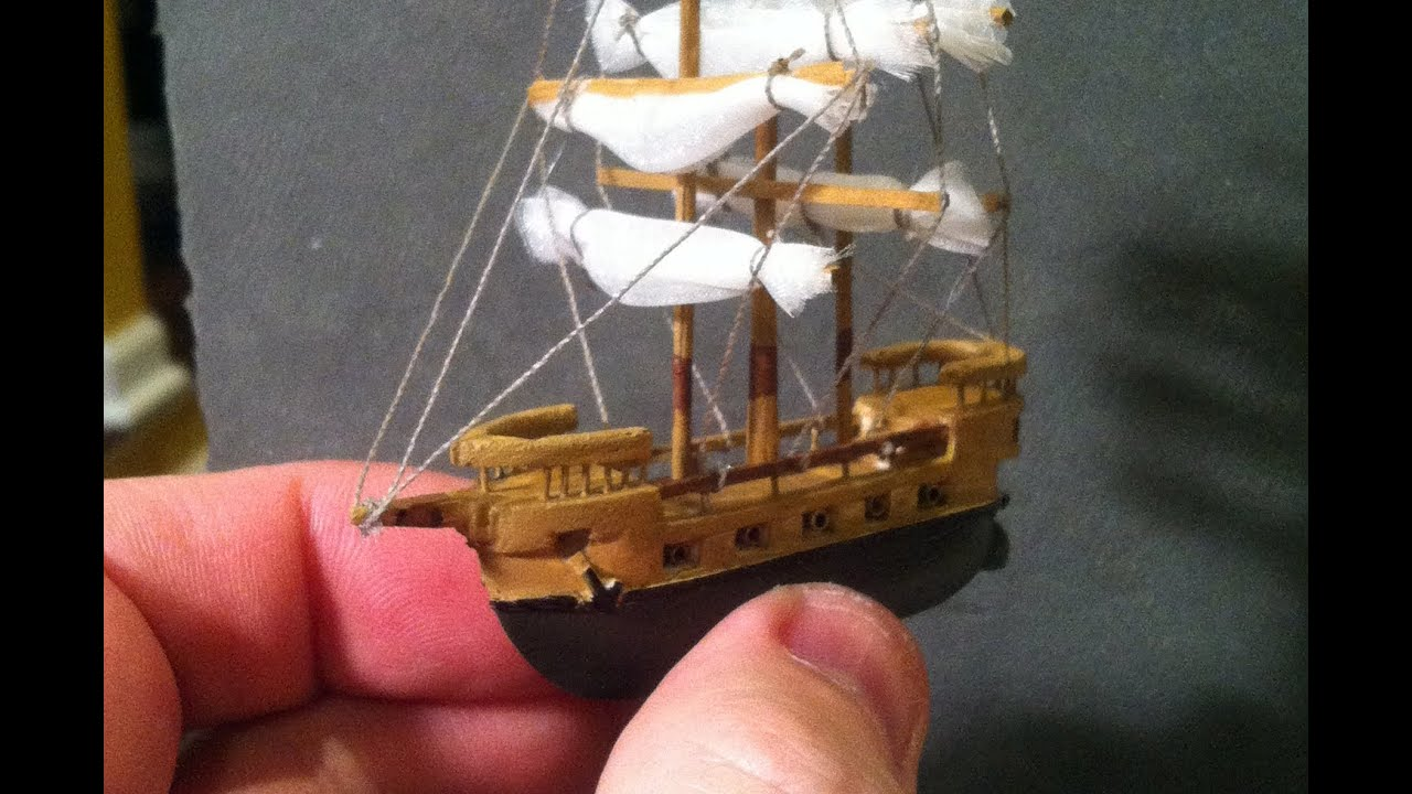 BEST Miniature Balsa Wood Boat Carving Time-Lapse ...