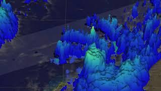 GPM Satellite Observes Owen Remnants at Queensland Coast