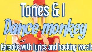 Dance Monkey - Tones & I (karaoke song with lyrics)