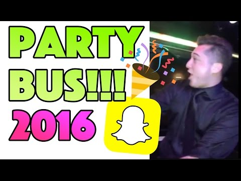 WHEN YOU FILL A PARTY BUS WITH ENTREPRENEURS!