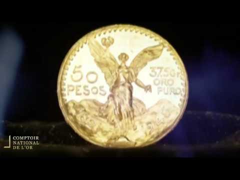 Pièce de 50 Pesos en Or - Comptoir National de l'Or (Gold.fr)