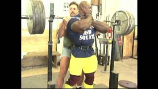 Ronnie Coleman Leg Workout - Best Leg Workout Training and Routine