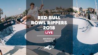 Skateboarding The Legendary Prado Bowl   Red Bull Bowl Rippers 2018 - Marseille, France