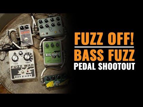 Fuzz Off // Bass Fuzz Pedal Shootout | CME Gear Demo