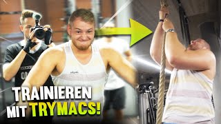 TRYMACS ist mein PERSONALTRAINER !🤣😂😂