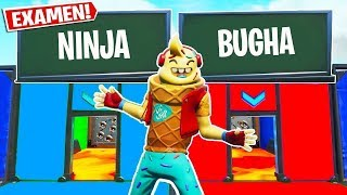 NINJA OR BUGHA... WHAT DO YOU PREFER? *NEW FORTNITE QUIZ* HERNY MINIGAMES 🤔