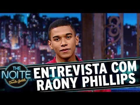 Entrevista com Raony Phillips  The Noite 011217