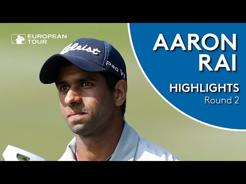 Aaron Rai Highlights | Round 2 | 2018 Honma Hong Kong Open