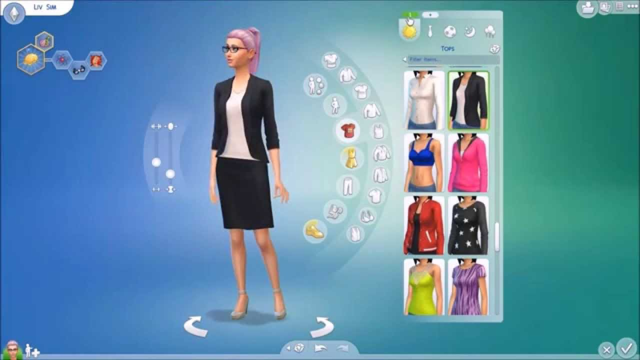 How To Create Multiple Outfits On The Sims 4 Youtube
