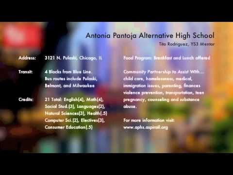 Antonia Pantoja High School (Aspira) - YS3 Recruitment